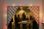 Eric Dobbins' studio at Town Pavilion, 2013