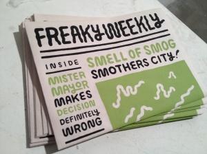Freakly Weekly