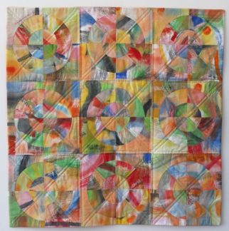 Painted Grid Study II