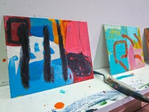 10 x 8 oil on canvas panel latest work in progress